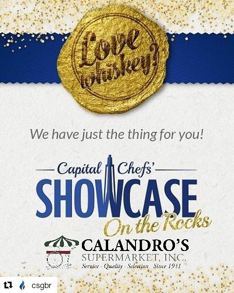 We're gonna be at #CapitalChefsShowcase pouring some amazing #whiskeys** this Thursday, Sept. 7th | 6pm…