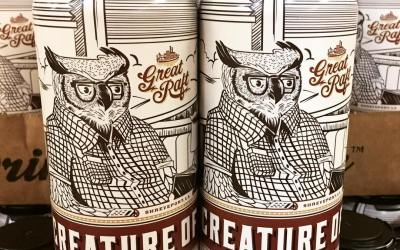 @greatraftbeer Creature of Habit is now available at our Perkins Rd location! #drinklocal #beer #darkbrew…