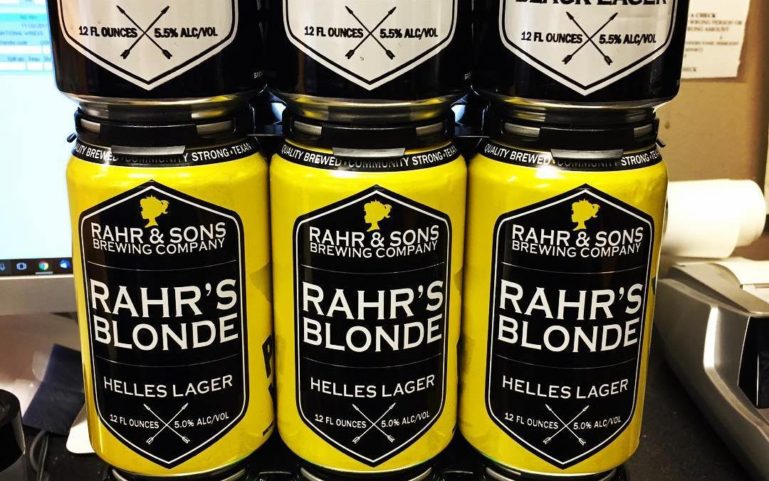 @rahrbrewing from Fort Worth, Texas is now available at our Perkins Rd location! #beer #hornedfrogs…