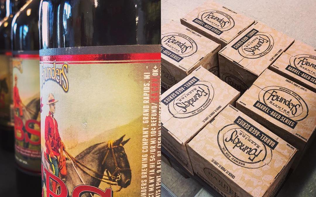 @foundersbrewing CBS is still available at our Perkins Rd location! Limit 3 Per Customer! #beer…