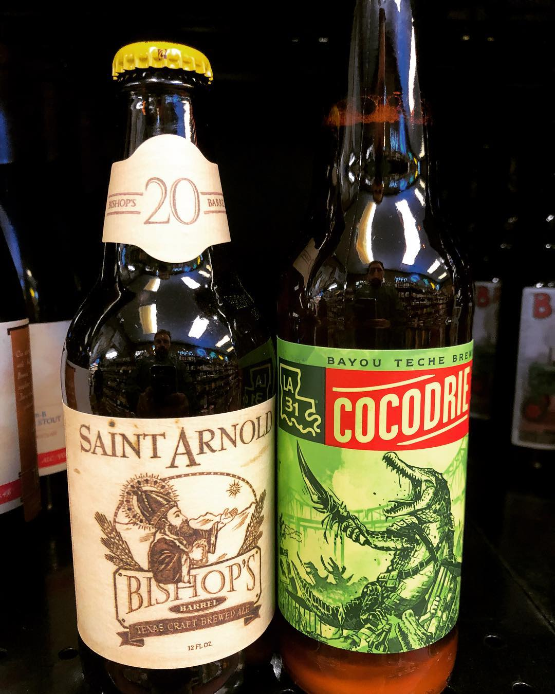 New brews in stock from @saintarnoldbrewing and the relaunch of @bayoutechebrewing DDH Cocodrie now at…
