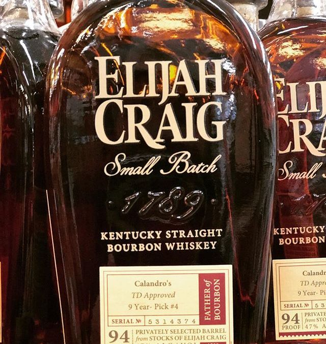 """Our very anticipated 4th of @elijahcraig Small Batch, """"TD Approved"""", is now available at our…"""
