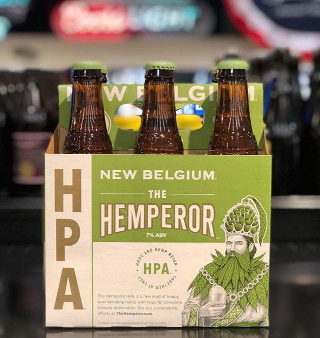 @newbelgium The Hemperor is now available at our Perkins Rd location! #beer #420 #slowmotion #hemp…