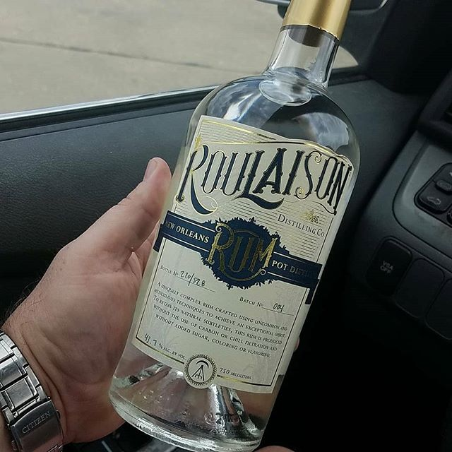 Repost from @the_low_carb_cocktail_guy: . Finally got a bottle @roulaison Since I had trouble finding the…