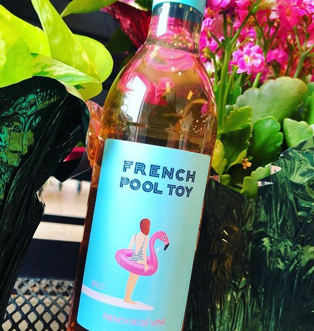 No, this isn't a mirage, it is indeed a full 750 ML bottle of Rosé…
