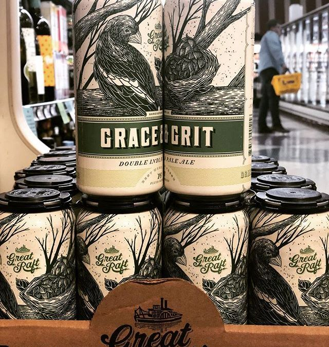 @greatraftbeer Grace and Grit is back at Perkins Rd! 2- 4 packs per customer! #beer…