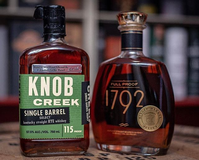 Can't wait to read the notes @adventures_in_whiskey! . Repost from @adventures_in_whiskey: A @knobcreek Single Barrel…