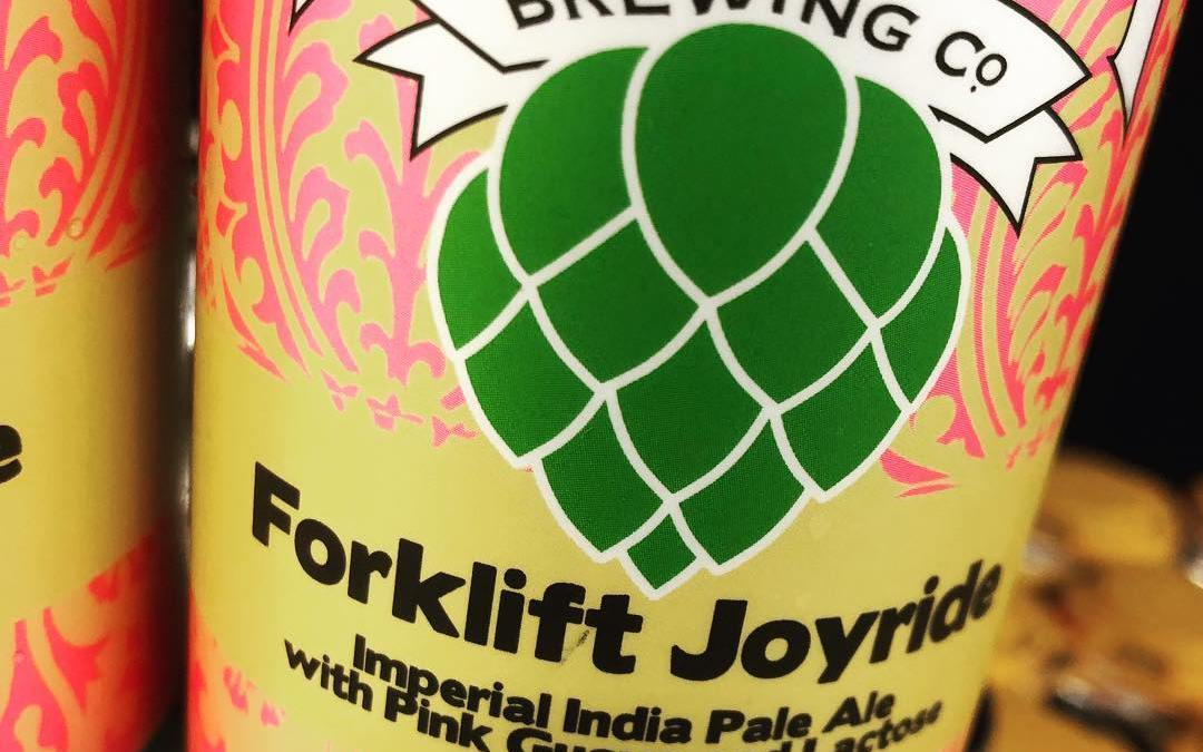 @nolabrewing Forklift Joyride is now available at our #midcitybr location! Limit 2 cans per customer!…