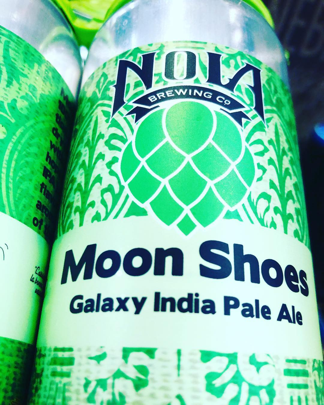 @nolabrewing Moon Shoes is now available at BOTH locations! #beer #drinklocal #midcitybr #freshhops