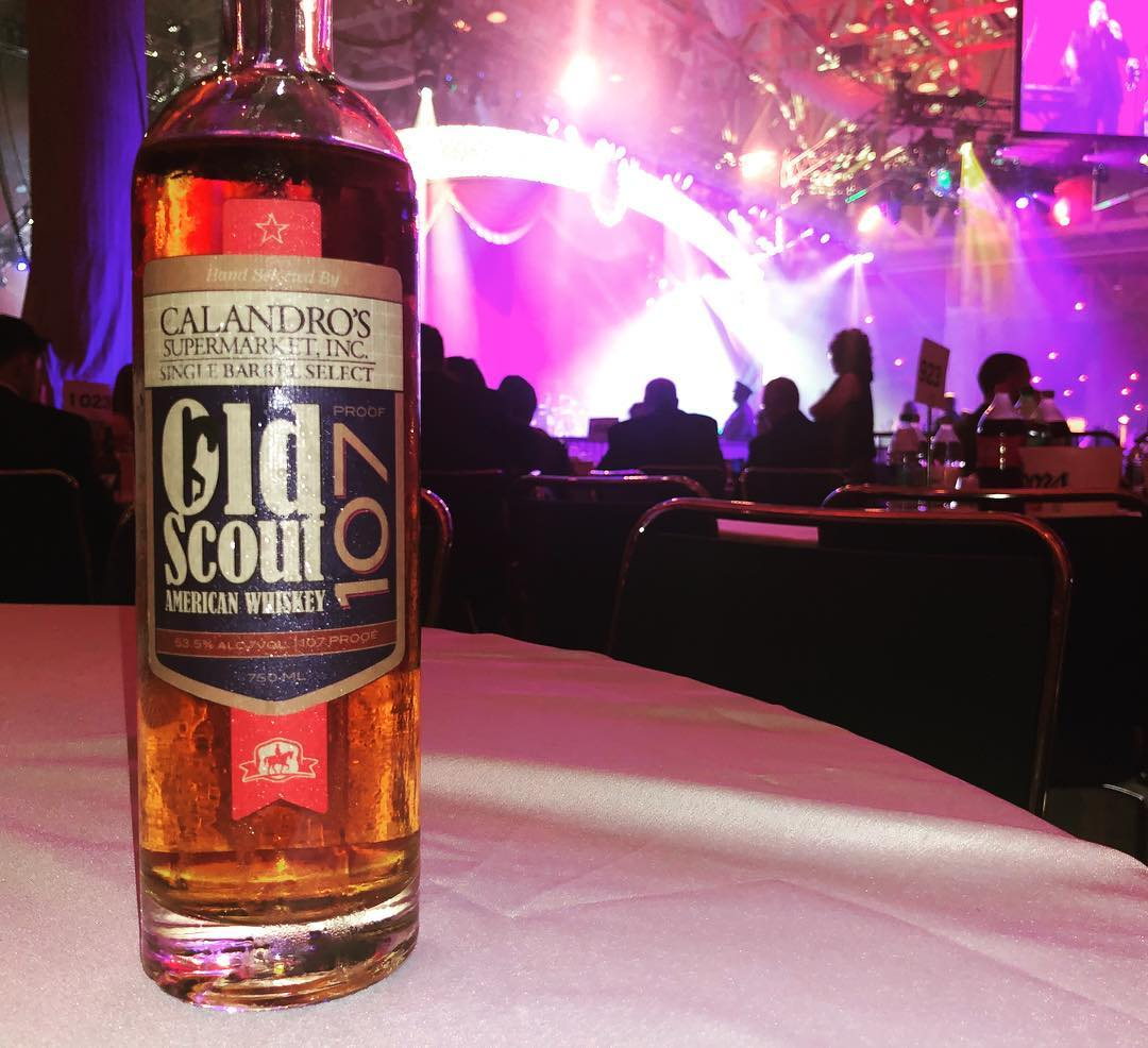 There's been a @smoothambler Old Scout 107 barrel pick sighting at @bacchusparade Ball! Looks like…