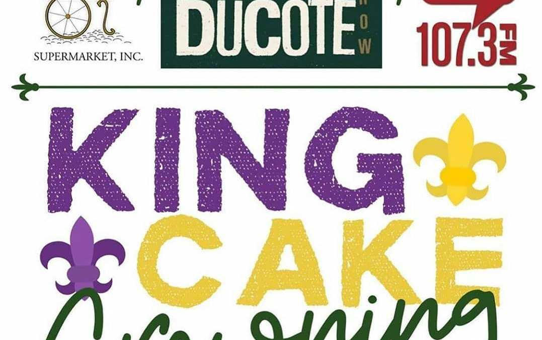 Yup. That's TODAY! Mardi Gras King Cake MADNESS @ Calandro's Perkins starting at 4pm! ….