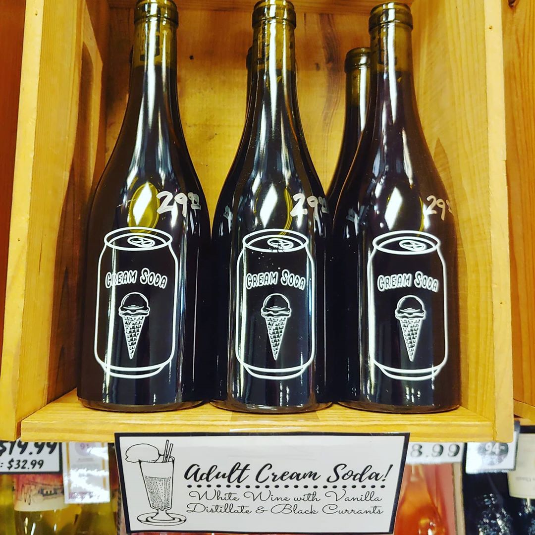 Don't worry if you missed out on the first drop of @vhswines Cream Soda! We…