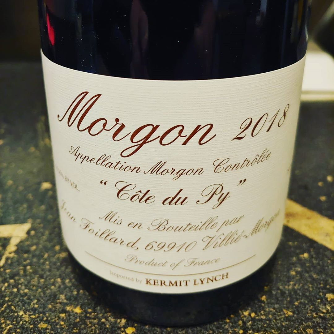 Our first pre-sale of 2020! We have a very small allocation of #jeanfoillard Morgon and…