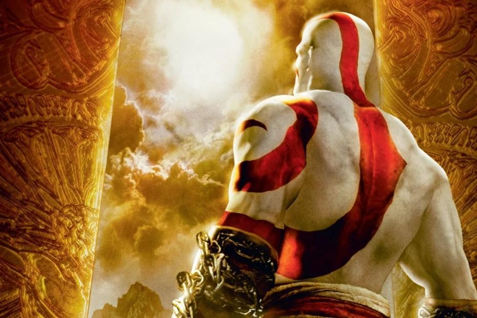God of War PSP Capa Topo