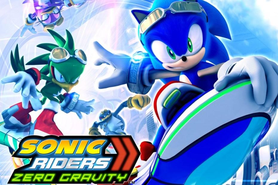 Sonic Riders Zero Gravity Wallpaper Papel de Parede