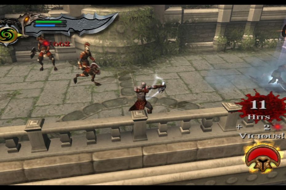 God of War II PS3 Screenshot 01