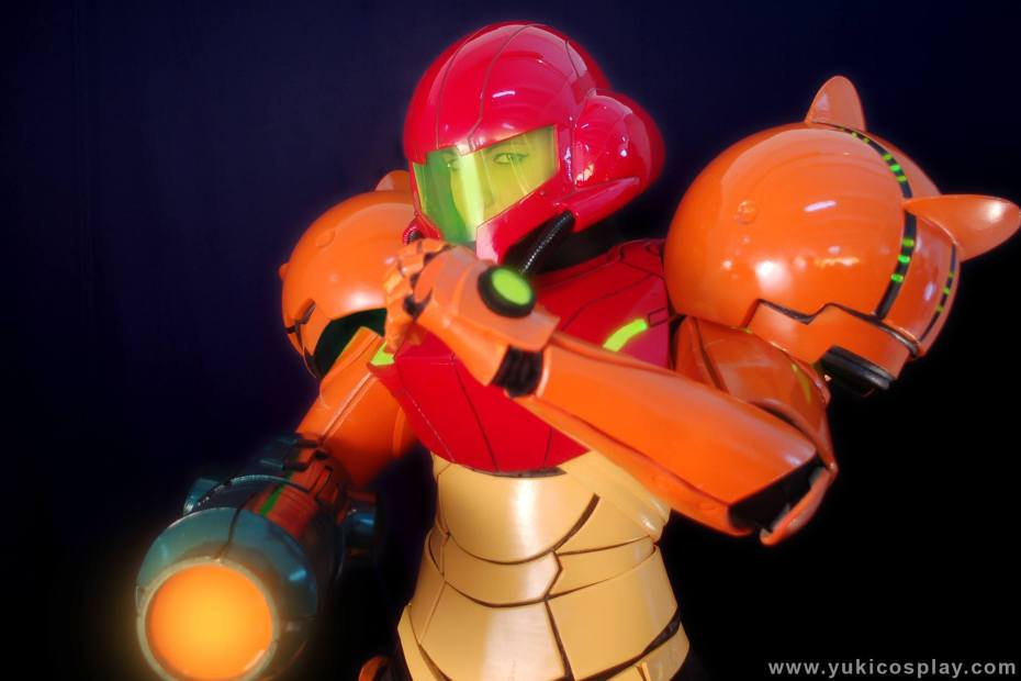 Cosplay da Samus - Yuki Cosplay - 01