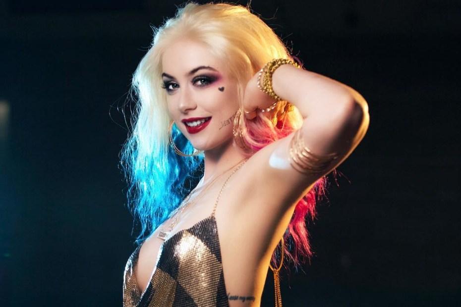 Arlequina Cosplay Sexy - Vestido - Harley Quinn Club Dress - Topo