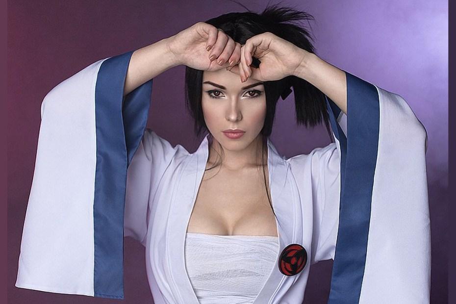 Sasuke Cosplay Feminina - Naruto - Foto Capa