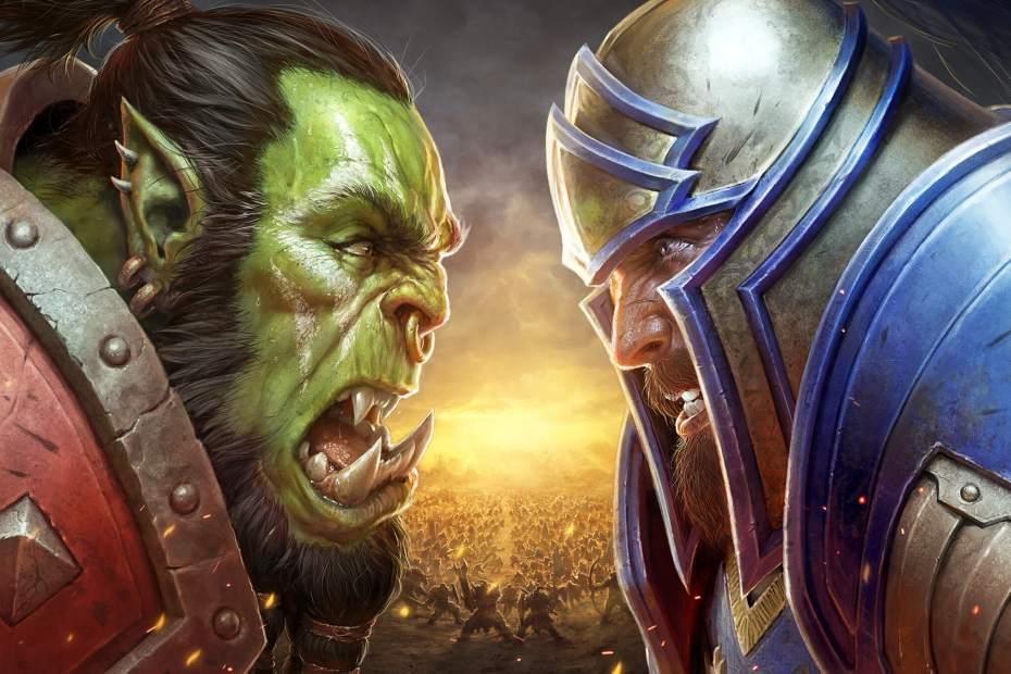 World of Warcraft Battle for Azeroth - Horda vs Aliança