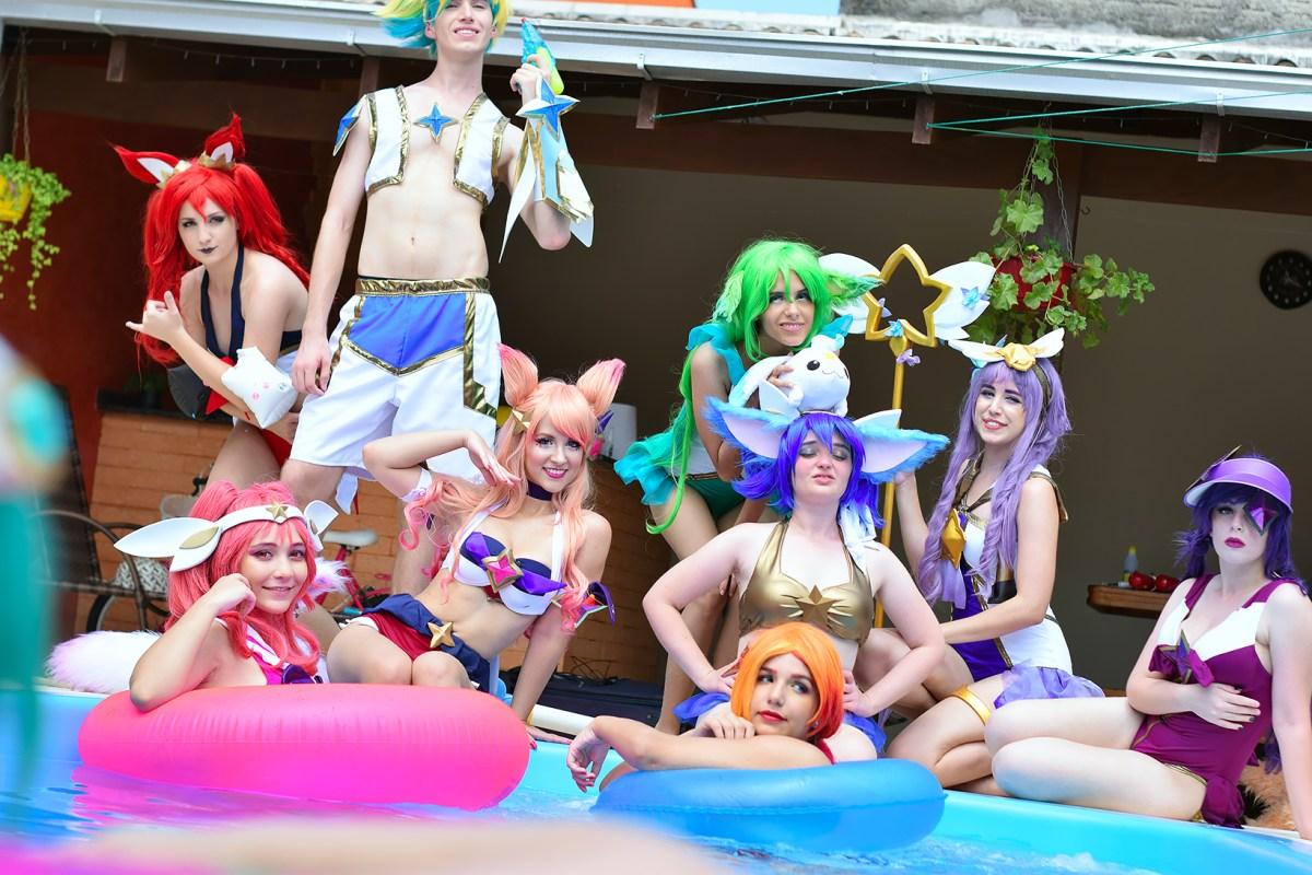 Festa na Piscina nos cosplays incríveis de League of Legends - 05
