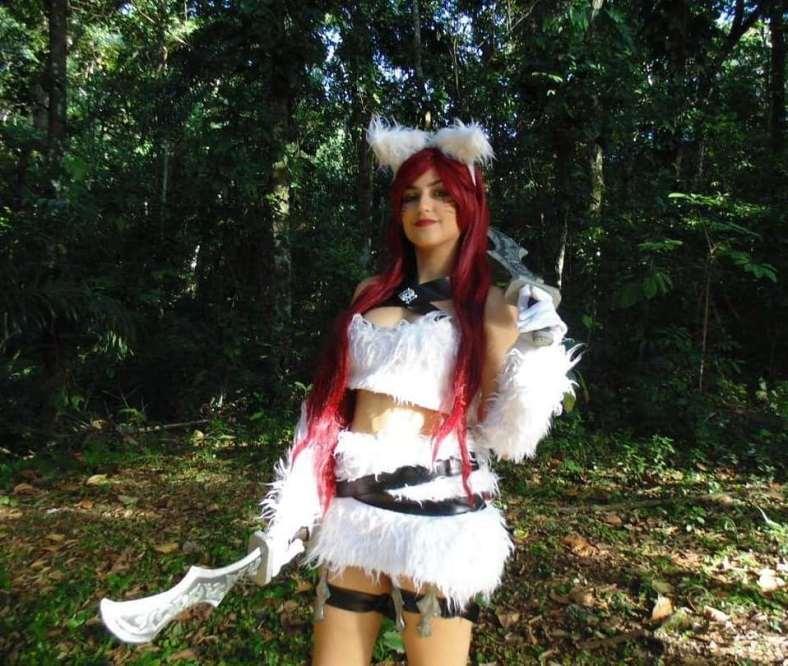 Kitty Kat Katarina Cosplay - League of Legends - LoL 01