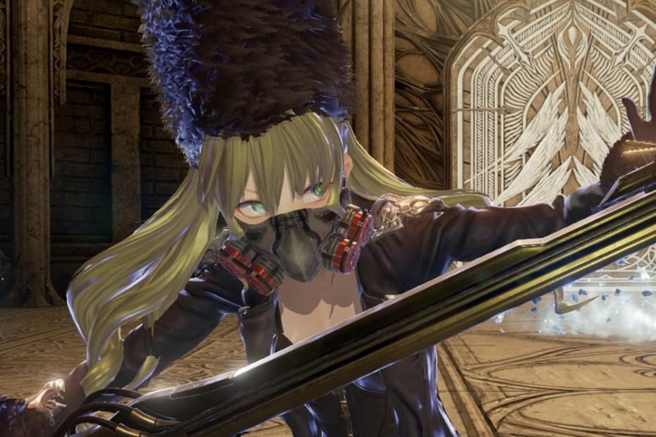 Code Vein - Screenshot Full HD - Personagem Capa