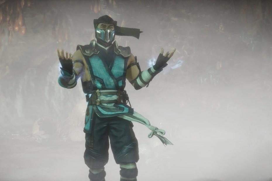 Mortal Kombat 11 - Sub-Zero chegando no confronto