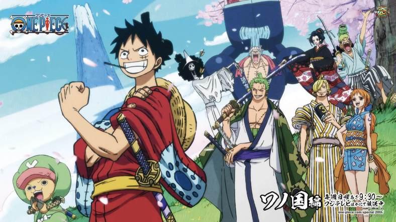 One Piece Wallpaper Full HD - Arco Wano - 02
