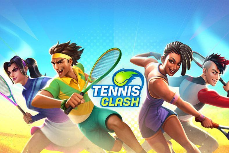Tennis Clash Jogo