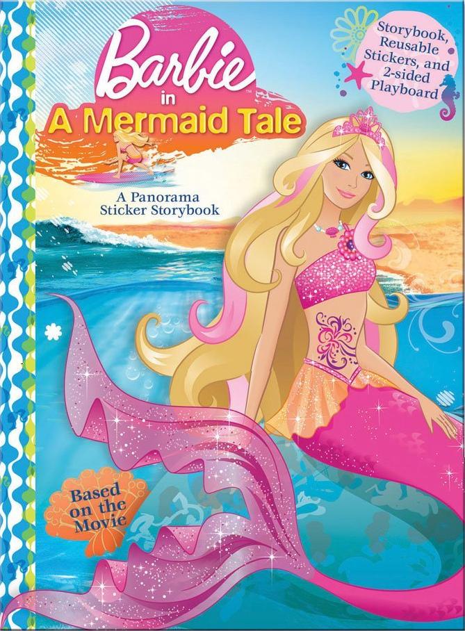 Barbie Sereia para colorir - Versão colorida Mermaid Tale - Coloring Pages