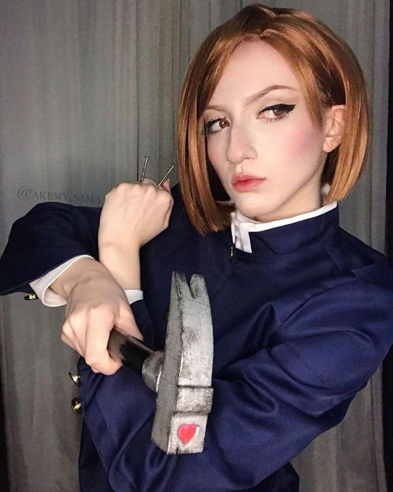 Cosplay da Nobara - Jujutsu Kaisen - Akemy Sama 04