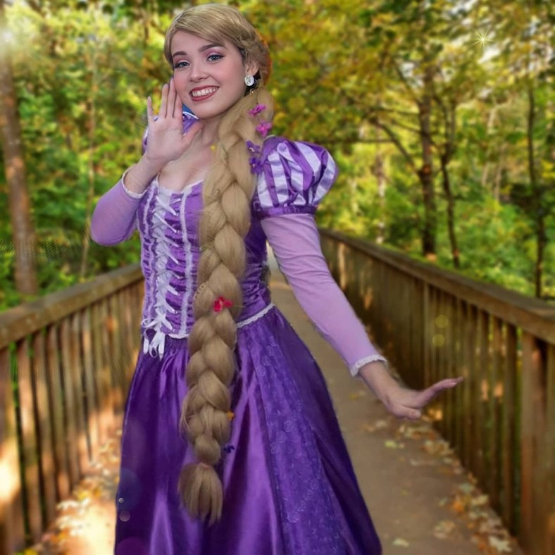 Cosplay da Rapunzel - Princesa Disney 02
