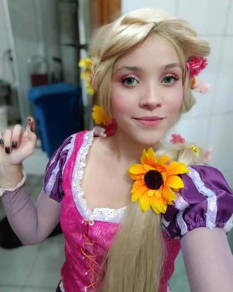 Cosplay da Rapunzel - Princesa Disney 06