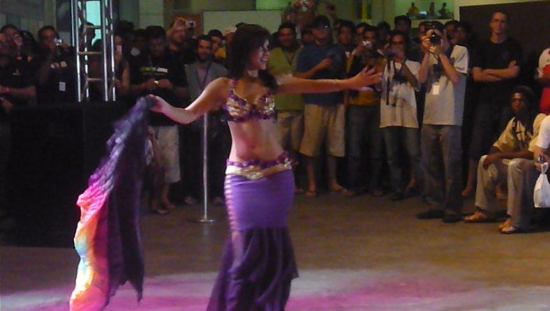 Dança do Ventre Campus Party 2019 - Luana Hazine 01