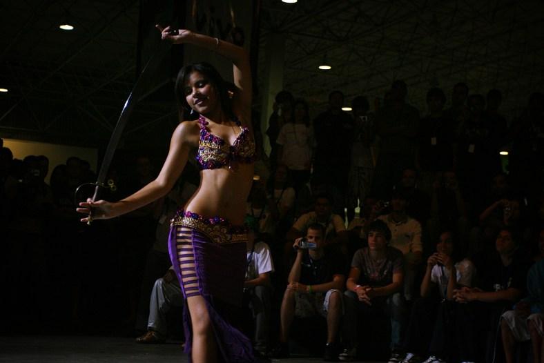 Dança do Ventre Campus Party 2019 - Luana Hazine