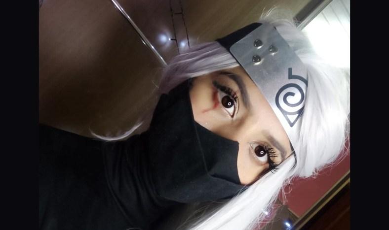 Kakashi Cosplay Feminino - Naruto 05