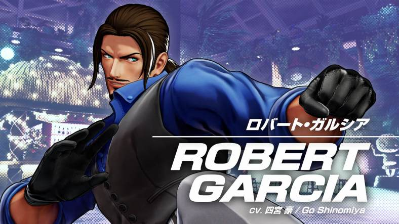 The King of Fighters XV - Robert Garcia 01