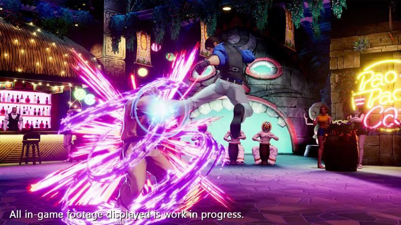 The King of Fighters XV - Ryo Sakazaki vs Robert Garcia 02