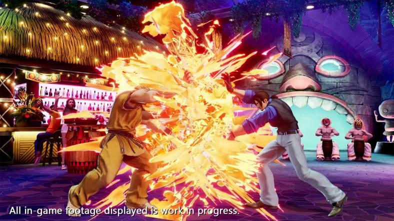 The King of Fighters XV - Ryo Sakazaki vs Robert Garcia 03