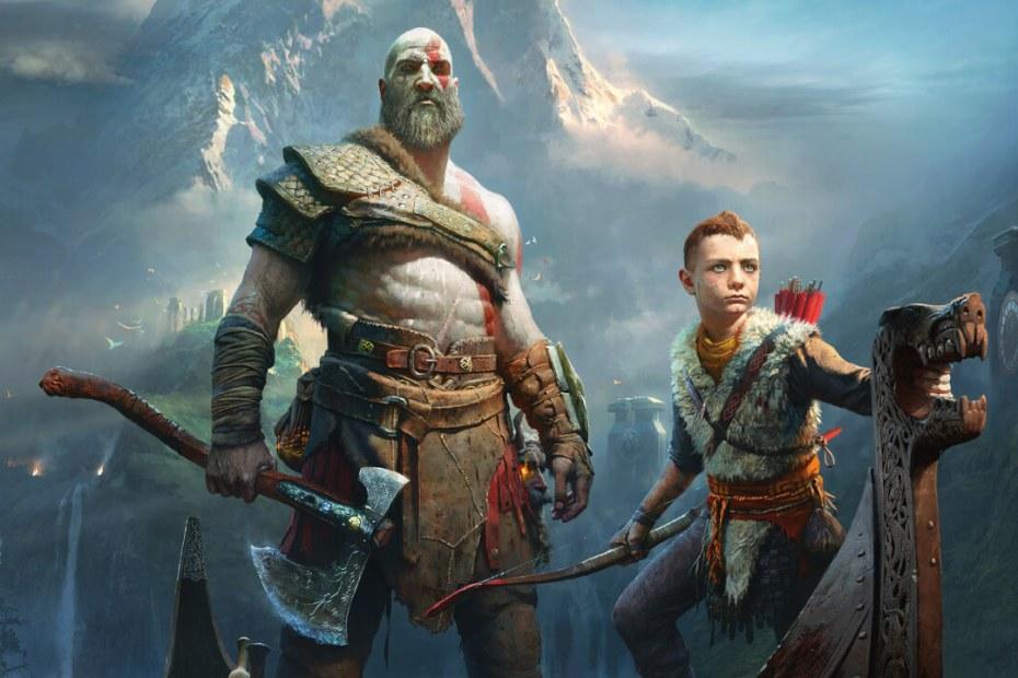 God of War Kratos e Atreus Screen