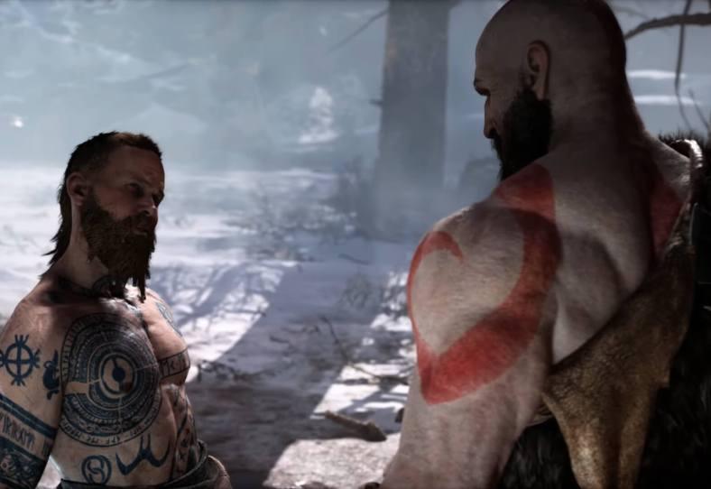God of War do PS4 rodando no PS5 - Screenshot 03