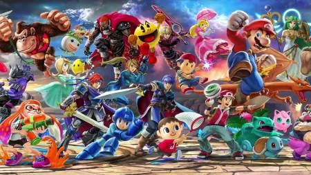 Nintendo Games Personagens