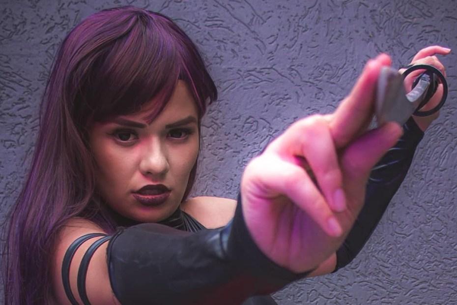 Psylocke Cosplay - X-Men Marvel Capa