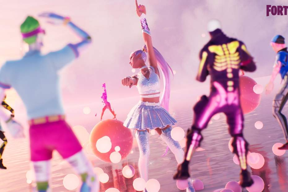 Ariana Grande em Fortnite - Wallpaper 01