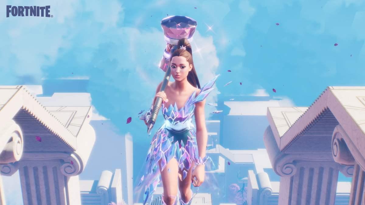 Ariana Grande em Fortnite - Wallpaper 02