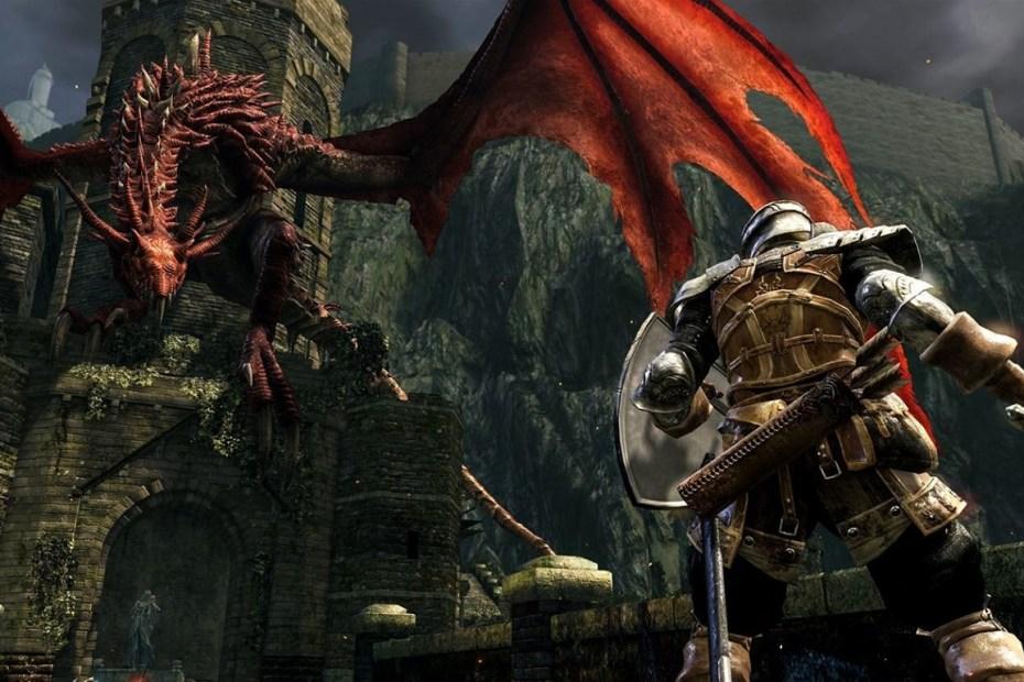 Dark Souls Remastered - Red Dragon Capa 01
