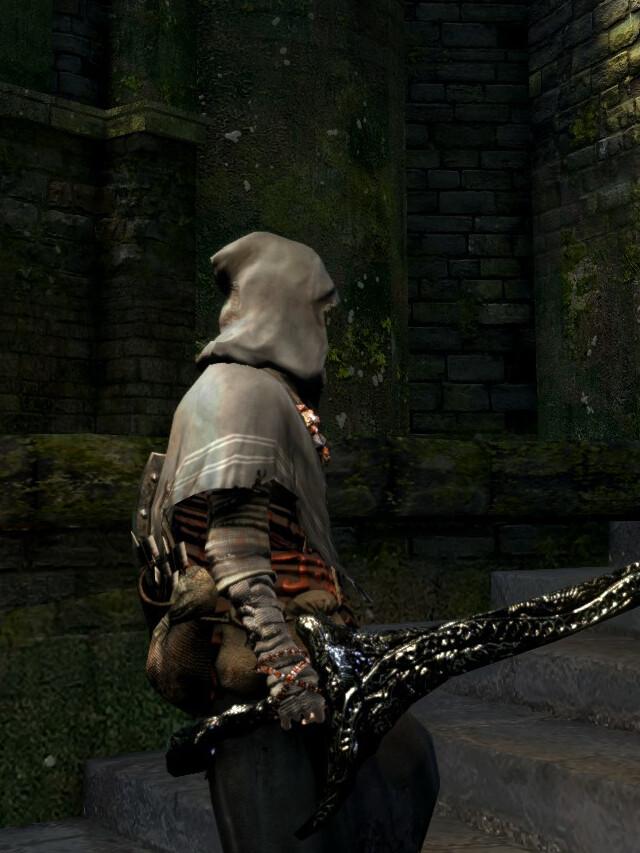 Progressão em Dark Souls Remastered: Espada do Dragonete