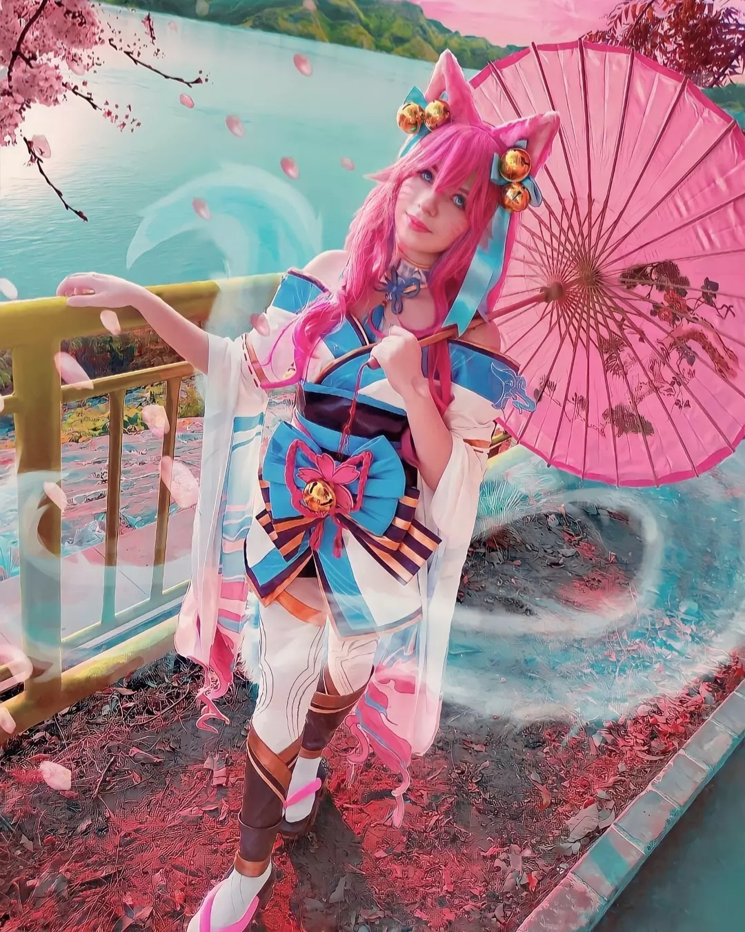 Ahri Spirit Blossom - Saori Cosplay - Foto Nova 02