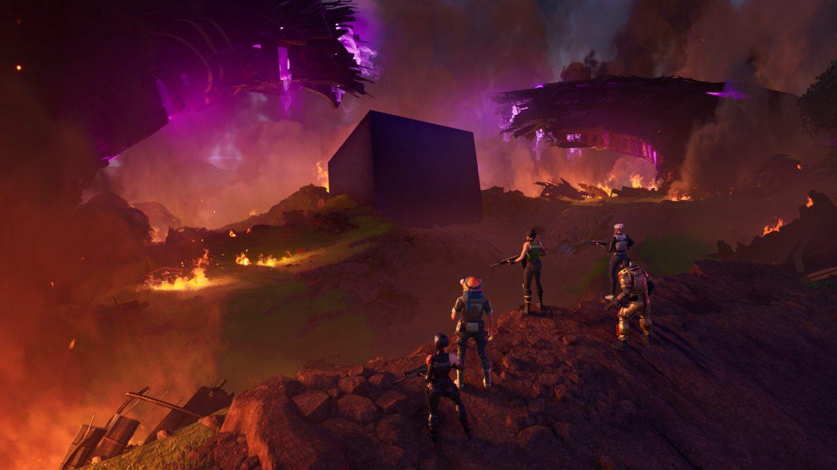 Fortnite Ao Cubo - Imagem Wallpaper Full HD
